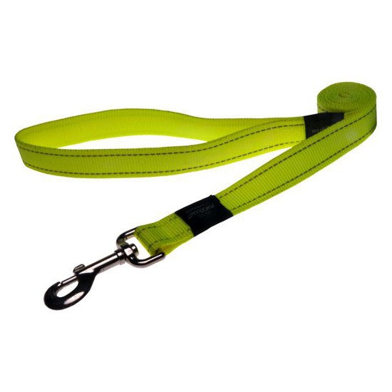 Rogz Fanbelt Lead Dayglow Yellow M-L