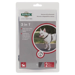 Petsafe 3 In 1 Harness Blk Sml