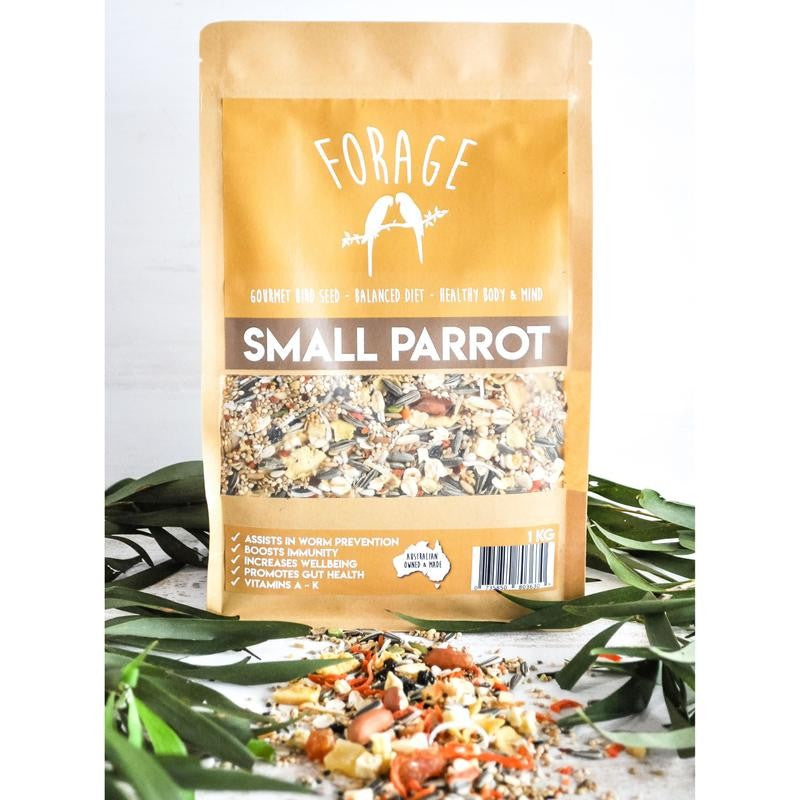 Forage Small Parrot Blend 1kg