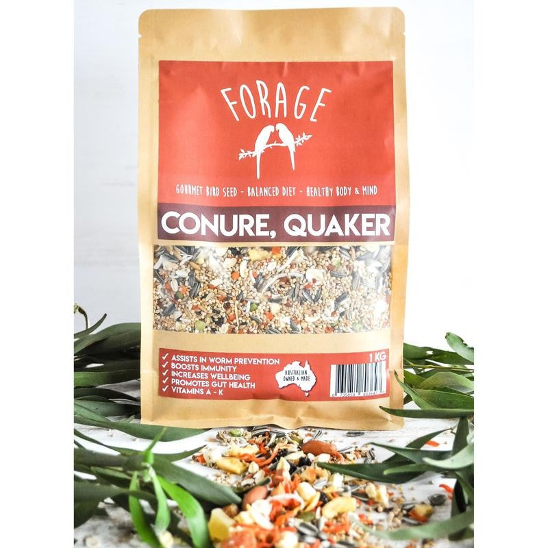 Forage Conure, Quaker Seed 1kg