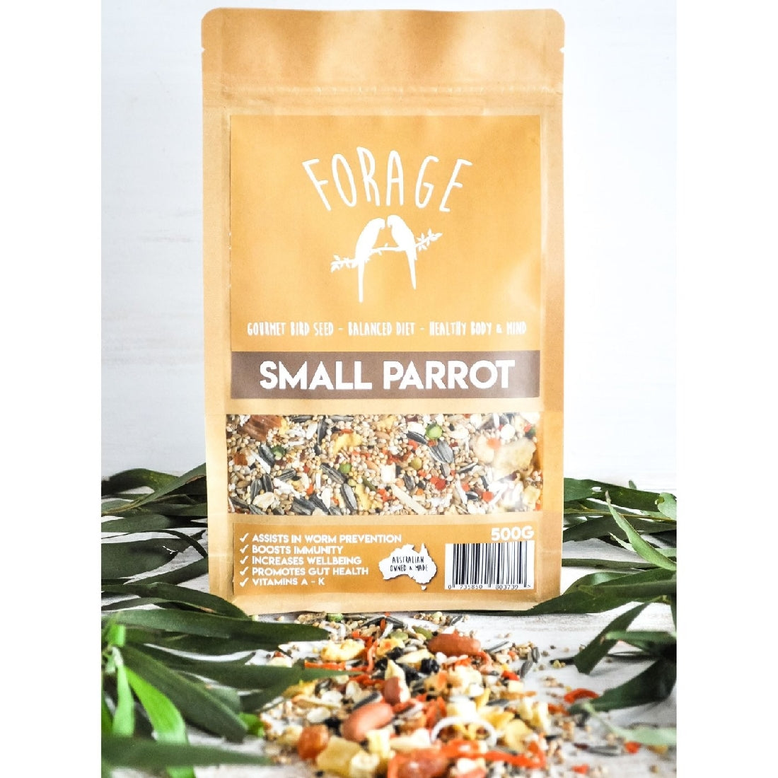 Forage Small Parrot Blend 500g