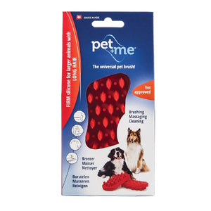 Pet&Me Red Silicone Brush