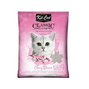Kit Cat Bentonite Clump Litter Sakura -7 kg (10 ltr)