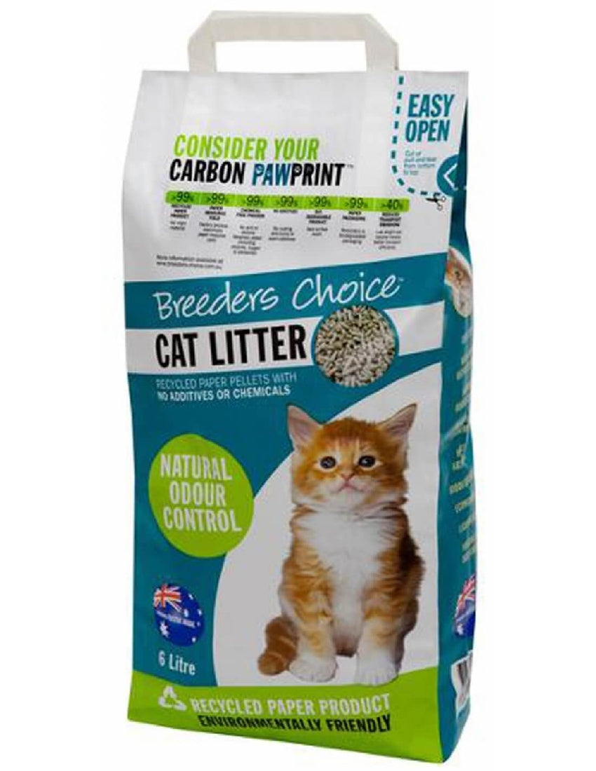 BREEDERS CHOICE CAT LITTER 6L
