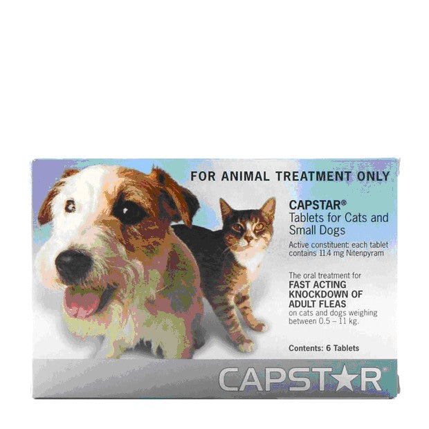 CAPSTAR TABLETS SML DOG & CATS