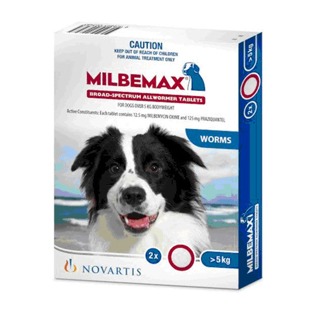 MILBEMAX LARGE DOG TAB 2'S