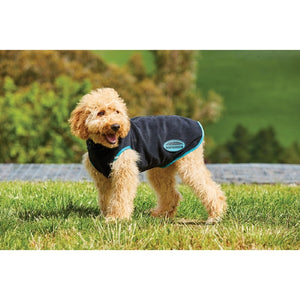 WeatherBeetha Comfitec Fleece With Zip Up Back Dog Coat 30cm