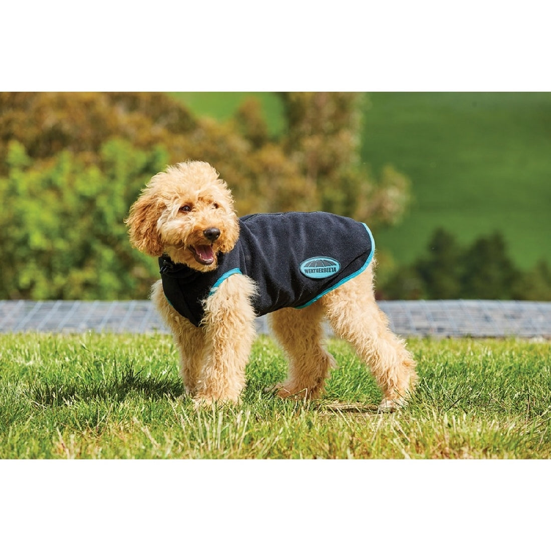 WeatherBeetha Comfitec Fleece With Zip Up Back Dog Coat 35cm