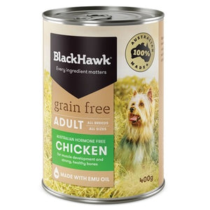 BLACK HAWK GRAIN FREE CHICKEN LOAF 400G