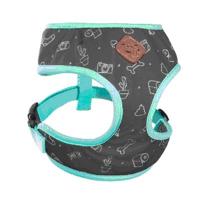 KAZOO FUNKY-SOFT WALKING HARNESS DOODLES S