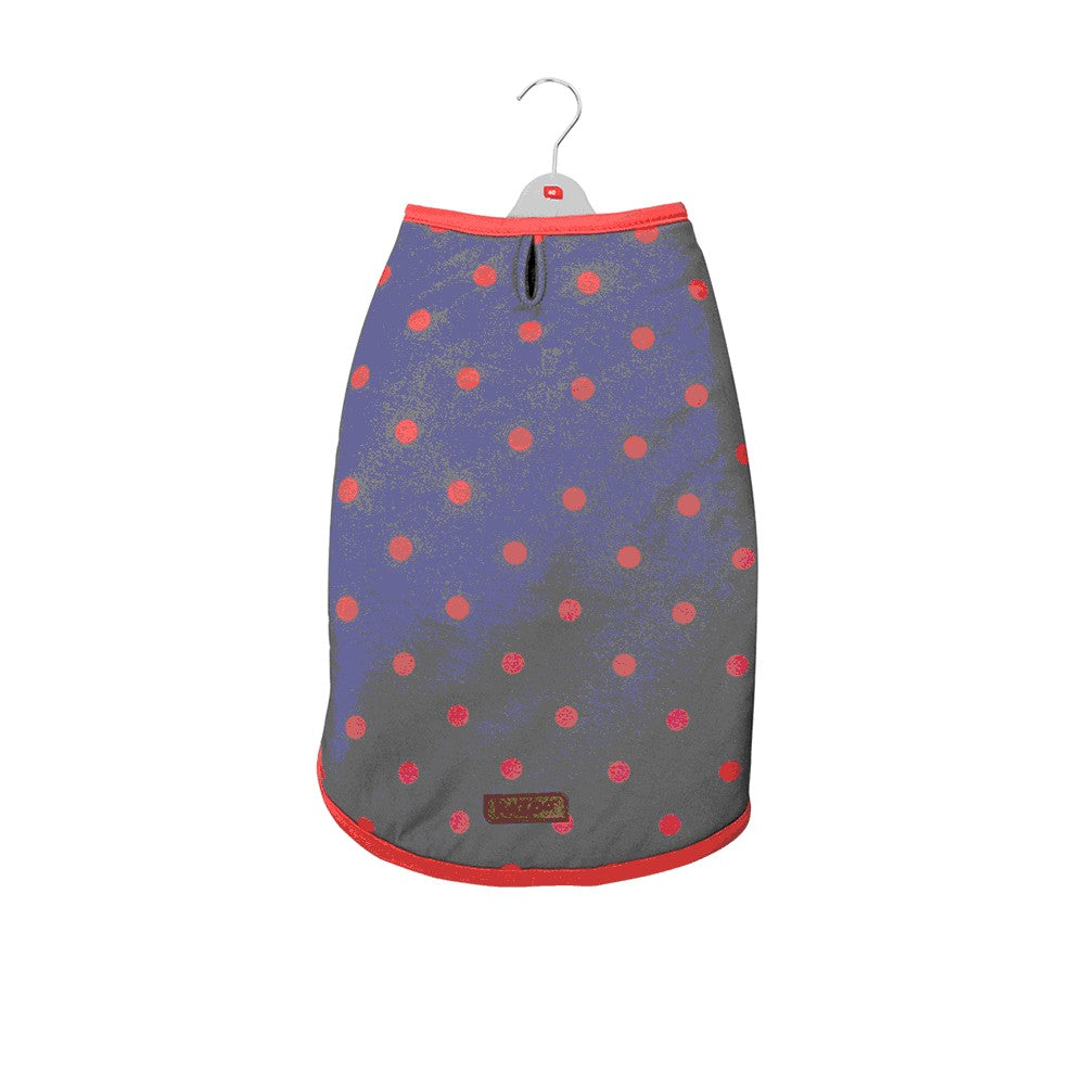 KAZOO SNUGGLE JACKET ORANGE POLKADOT 46.5 MEDIUM