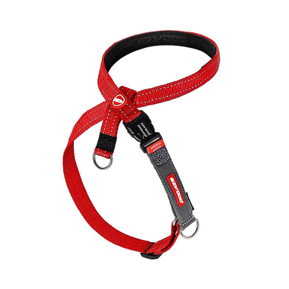 EZY DOG CROSS CHECK HARNESS LARGE RED
