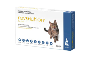 REVOLUTION CAT BLUE 6PK