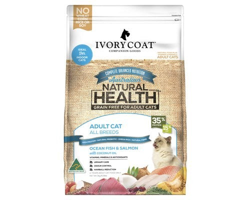 IVORY COAT CAT OCEAN FISH 3KG
