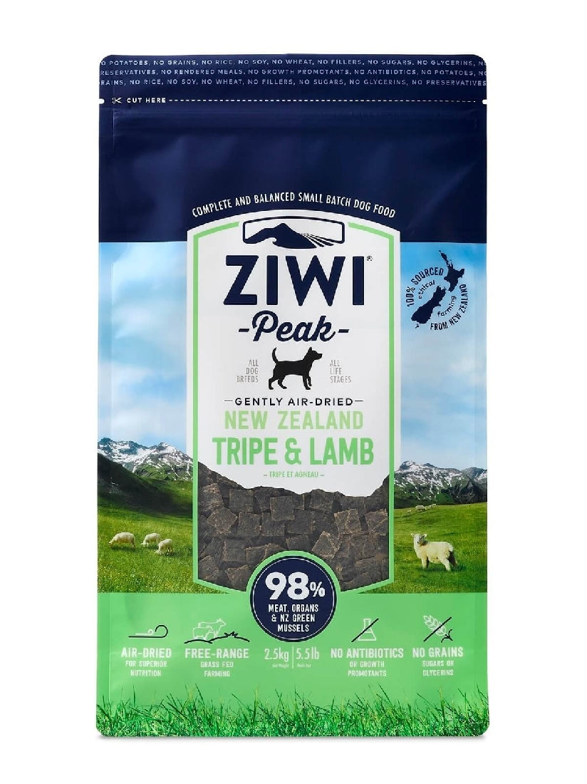 ZIWI PEAK TRIPE AND LAMB 2.5KG