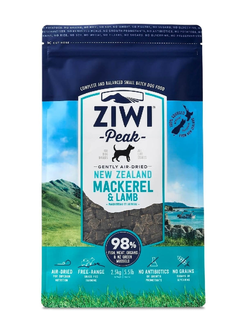 ZIWI PEAK MACKERAL AND LAMB 2.5KG