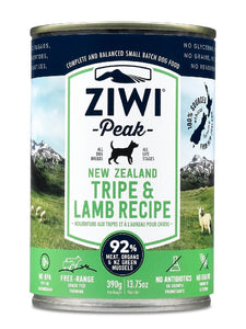 ZIWI PEAK TRIPE AND LAMB CAN 390G