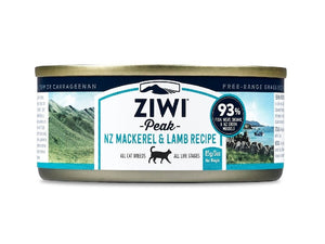 ZIWI PEAK CAT CAN MACKEREL AND LAMB 85G