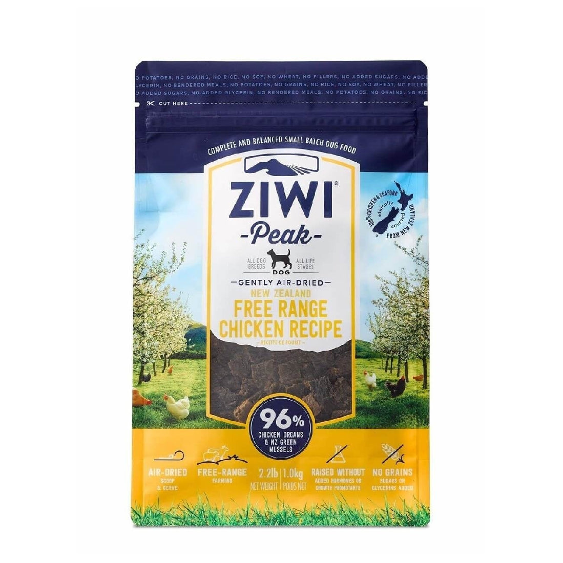 ZIWI PEAK DOG CHICKEN 1KG