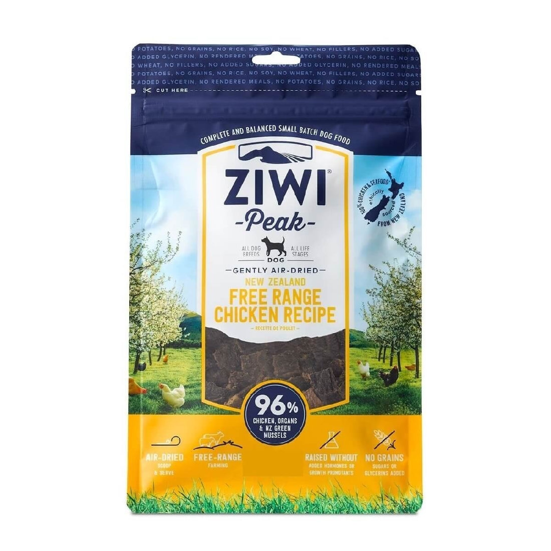 ZIWI PEAK CAT FOOD CHICKEN 1KG