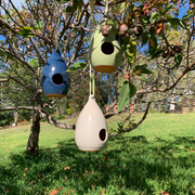 Handmade Pottery Birdhouses - From Portugal - Common Thread Style