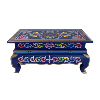 Mongolian Coffee Table - Handcrafted - Common Thread Style