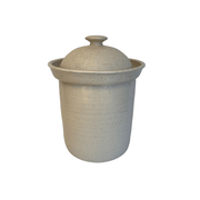Handmande Stoneware Fermentation Crock - Common Thread Style
