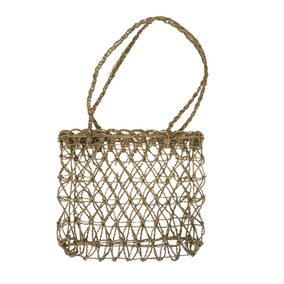 "Handwoven ""Fishing"" Twine Bag - Common Thread Style"