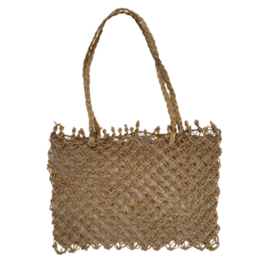Handwoven Balinese Twine Bag - Rectangle - Common Thread Style
