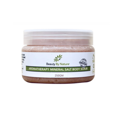 Aromatherapy Body Scrub with Peppermint, Spearmint, Orange, and Spanish Rosemary - Common Thread Style