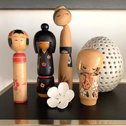 Vintage Kokeshi Doll - Medium - Common Thread Style