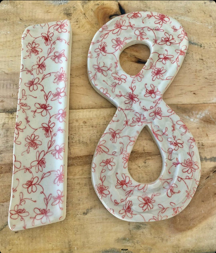 House Numbers - Japanese Paper Custom Order - Common Thread Style
