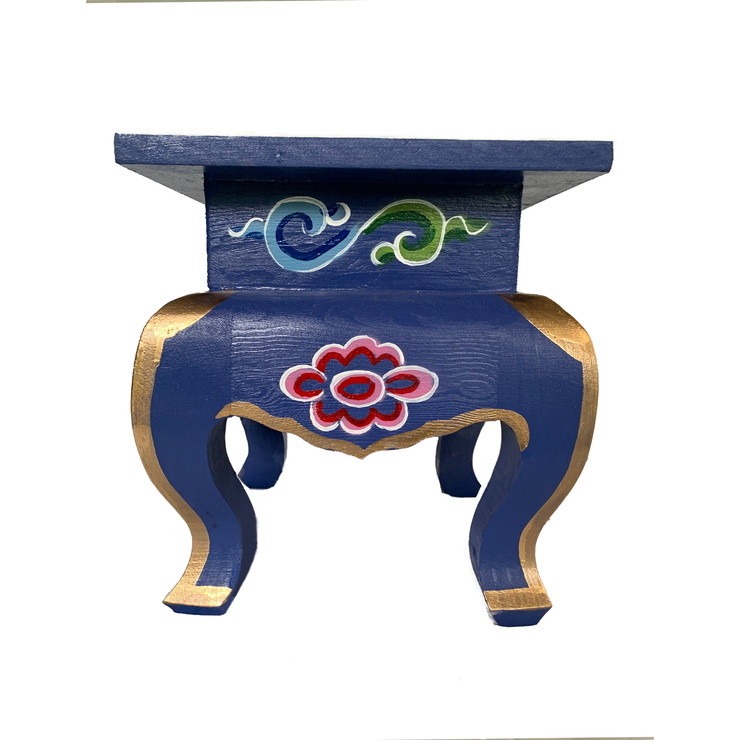Mongolian Stool - Handcrafted - Common Thread Style