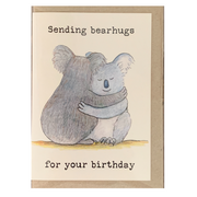 Collection of 4 Greeting Cards Featuring Australian Animals - Common Thread Style