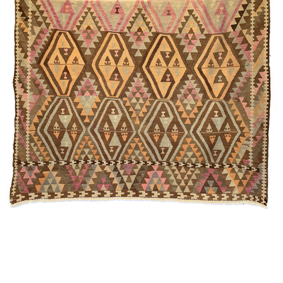 Vintage Anatolian Kilim Rug - Common Thread Style