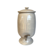 Handmade Stoneware Water Filter System in All White - Common Thread Style