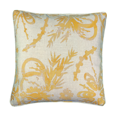 Sage - Linen Cushion - Common Thread Style