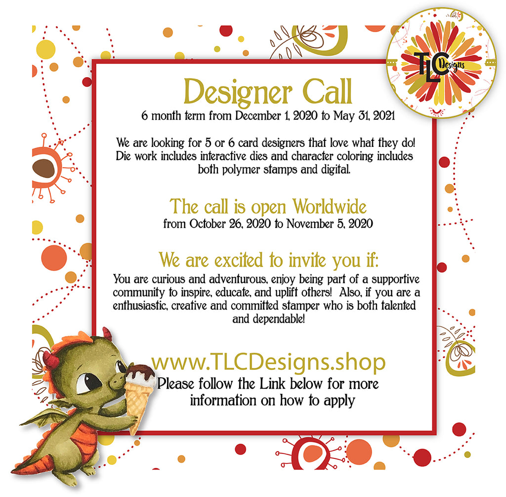 2020 TLC Designs Design Team Call