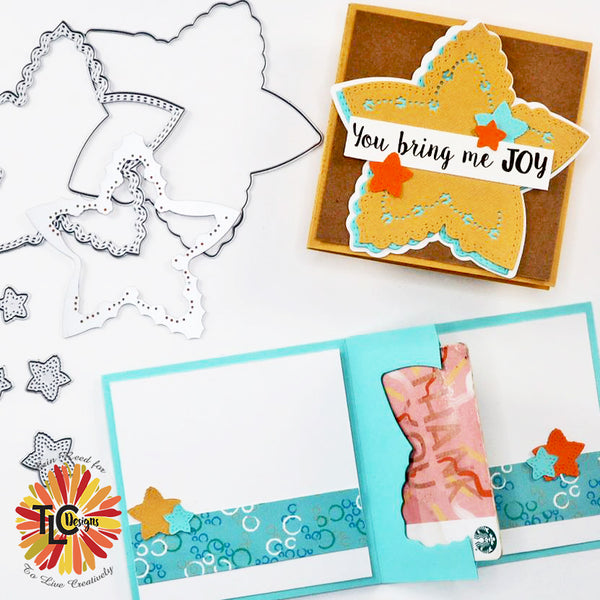 tlcdesigns.shop Erin's Start Spangled Confetti die pop up project