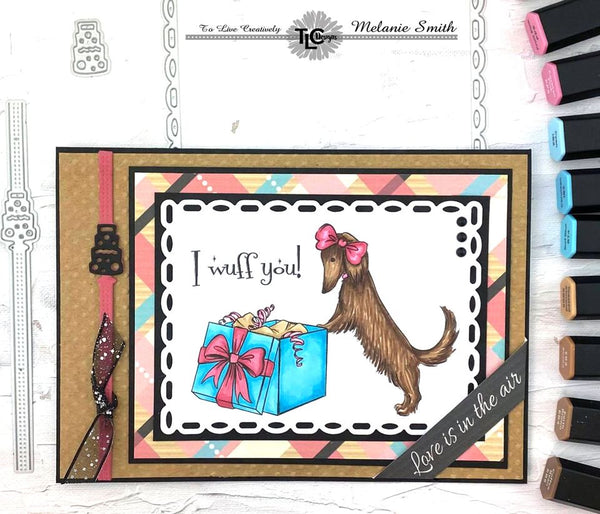 Posh Pups Digital Paper Pack