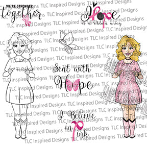Ink Me In Pink Digital Stamp Set Freebie