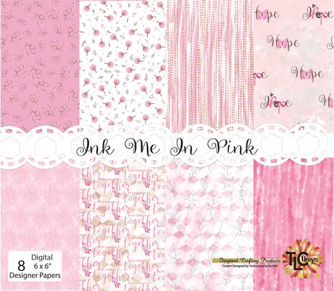 Ink Me In Pink Digital Paper Pack
