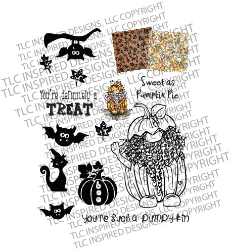 Jack O' Gnome Free Digital Stamp Set