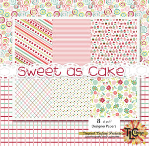 Sweet As Cake Digi Papers