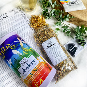 CHAKRA Herbal Tea Pack - Balance. Connect. Enlighten.