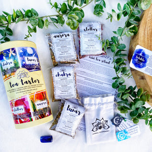 THE TEA TASTER Pack - Organic. Herbal. Caffeine-free.
