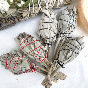 Mini White Sage Cleansing Wands