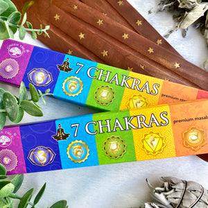 """7 Chakras"" Incense Sticks"