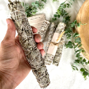 Large White Sage Stick