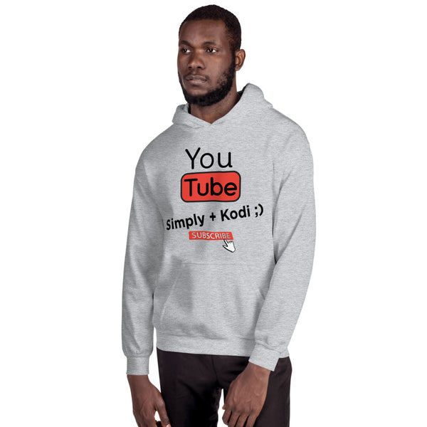 Simply Kodi YouTube Channel Heavy Hoodie